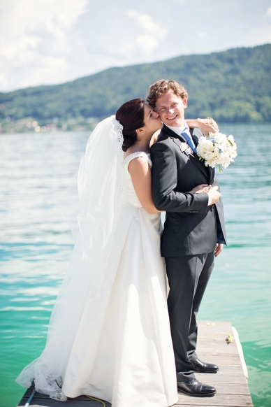 Bride & Groom, Braut & Bräutigam am Wörthersee wedding photography by peaches & mint