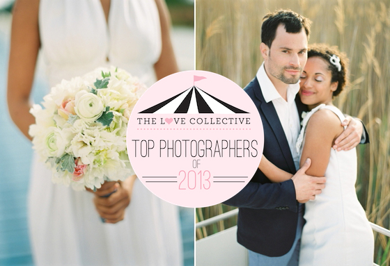 Top wedding photographer of the year 2013 nominated by the Love Collective