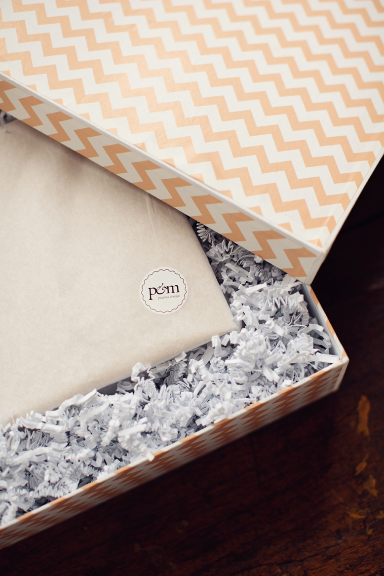 Custom made boxes for Albums by peaches and mint