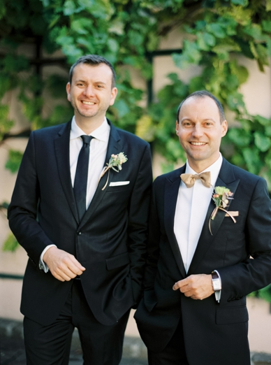 Vienna Wedding Groom & Best Man