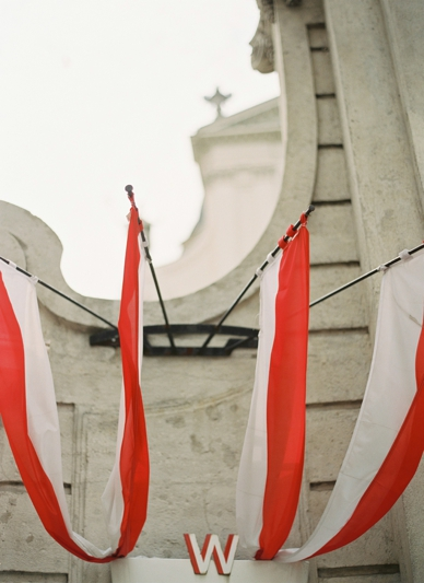 Vienna City Wedding Austrian Flag