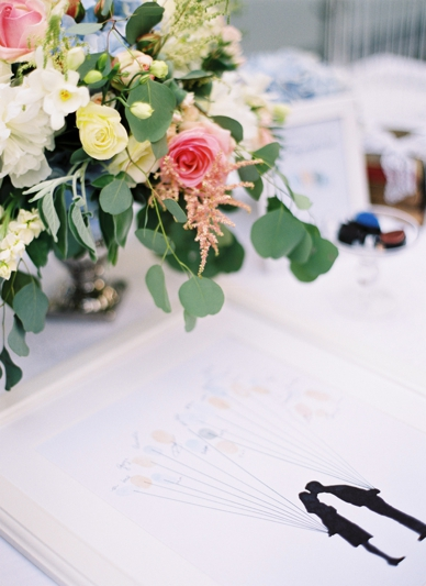 Fingerprint guestbook idea by LovelyWeddings.at