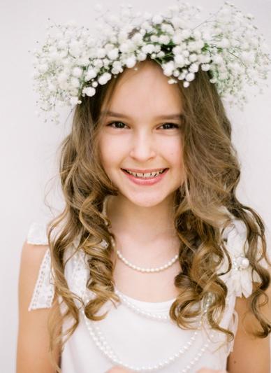 Stunning Flowergirl by peachesandmint.com