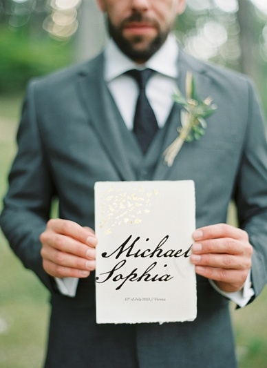 Calligraphy font for wedding invitation