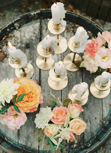 Romantic summer wedding ideas for rustic Outdoor weddings