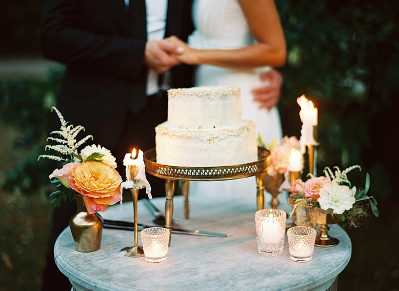 Cutting the cake summer wedding ideas