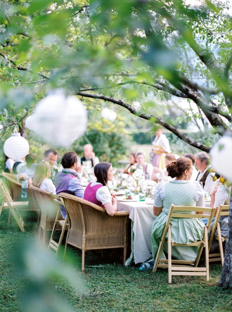 Outdoor Summer Wedding Attersee Hochzeit in Tracht