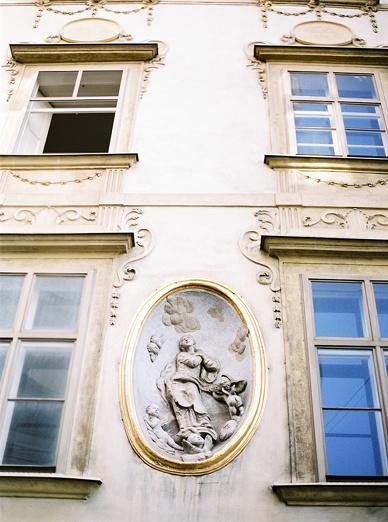 Viennese Architecture Street in Vienna