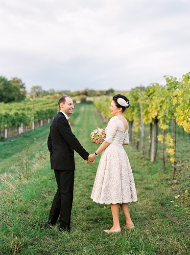 Vinyard Wedding Austria