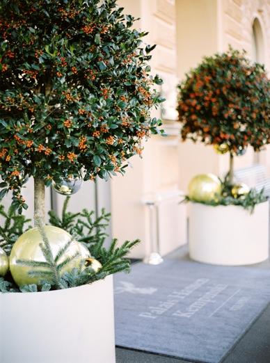 Kempinski Winter Wedding Photography peaches & mint