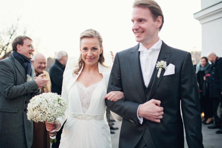 Elegant Swiss-Austrian Wedding celebration in Vienna