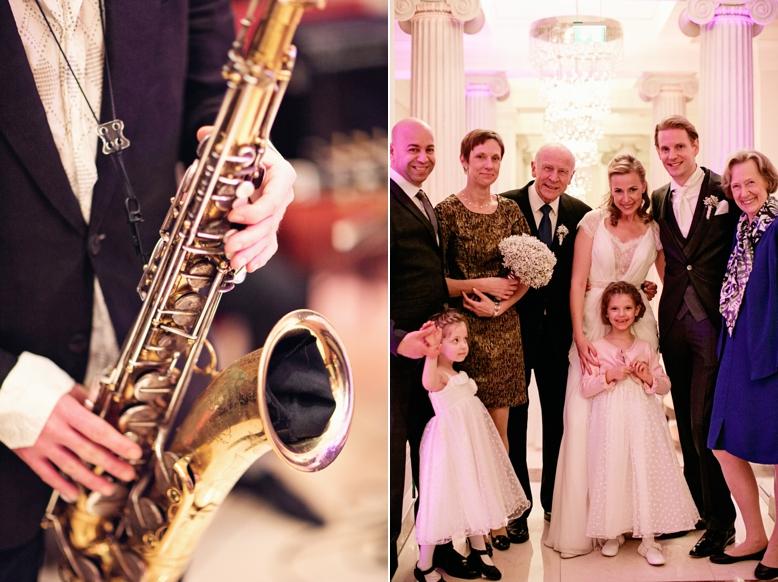Stunning wedding reception at Kempinski Vienna