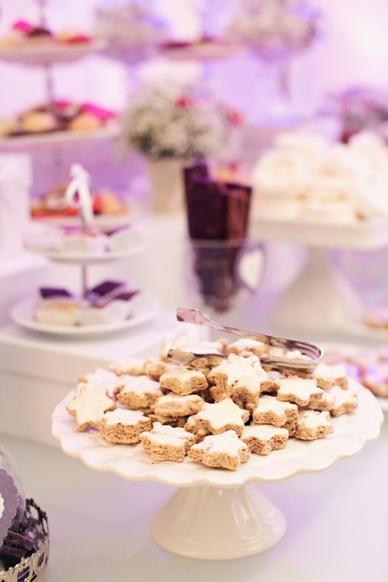 Winter wedding ideas cookie bar