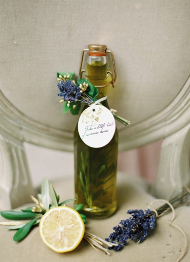 OIive oil wedding give aways by lovelyweddings.at photography peaches & mint