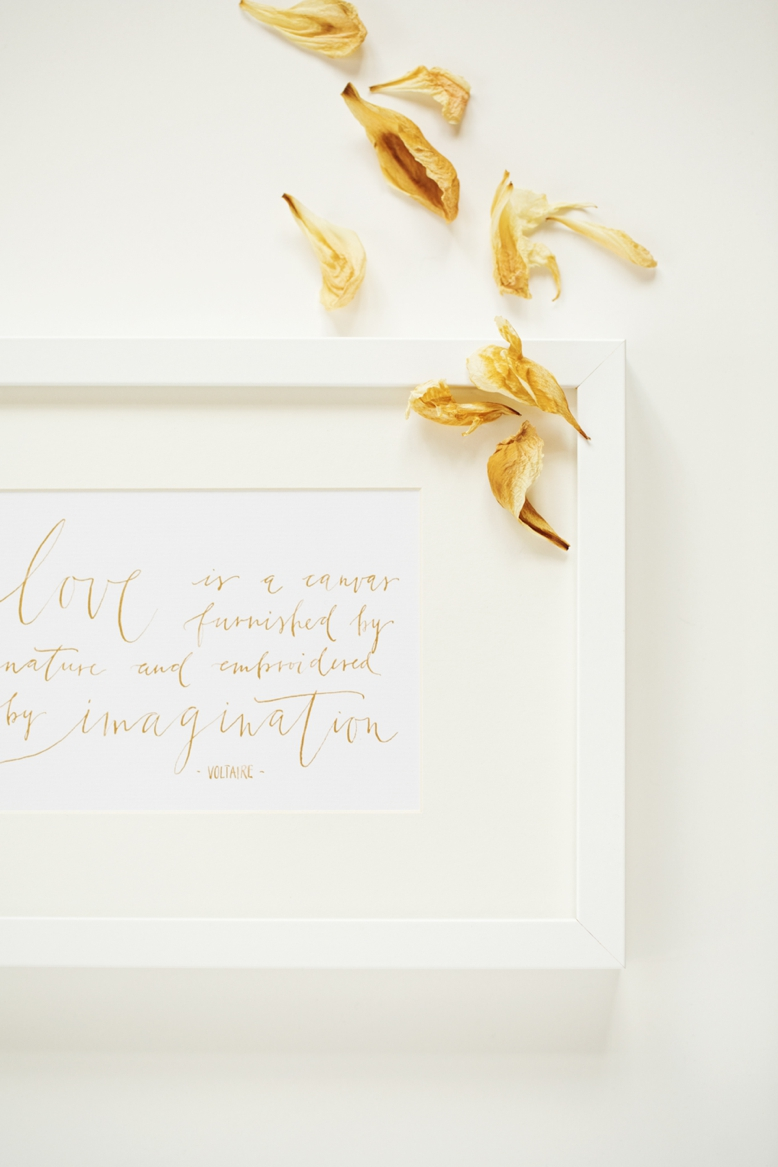 Love quote by Voltaire wedding photography inspiration