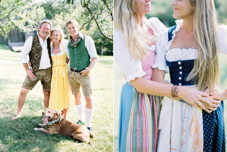 Family Photography Austria in traditional Tracht by peachesandmint.com