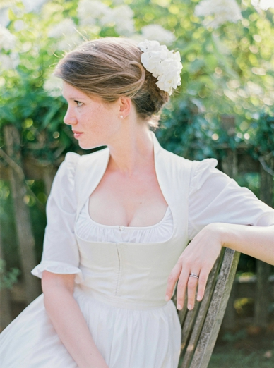 Bride wearing a Tostmann Dirndl Hair & Make-Up by Sturmayr Coiffeur