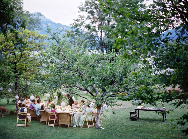 Under the apple trees - summer wedding ideas