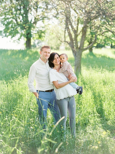 Fine Art Photography Family Session under the trees