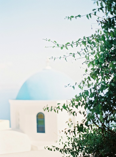 Magical Greece, Santorini island honeymoon photo session