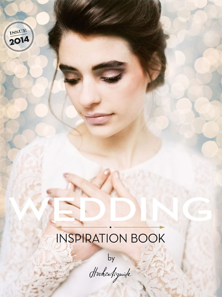 Cover by peaches & mint of wedding style bible & magazine by hochzeitsguide.com