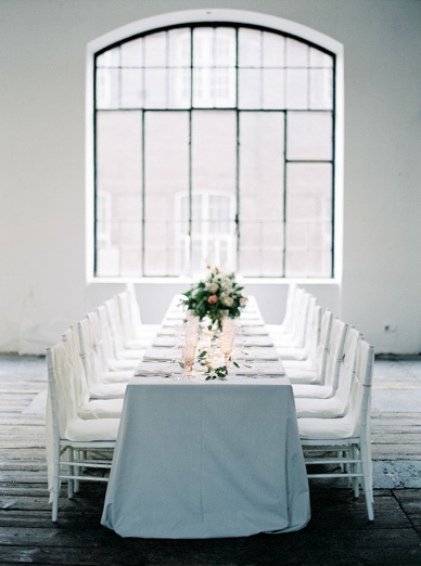 Urban loft wedding inspiration bespoke wedding design by Lovelyweddings.at