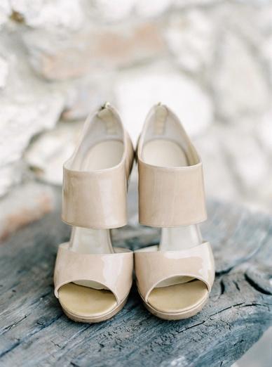 Perfectly comfortable & stylish Jimmy Choo wedding shoes