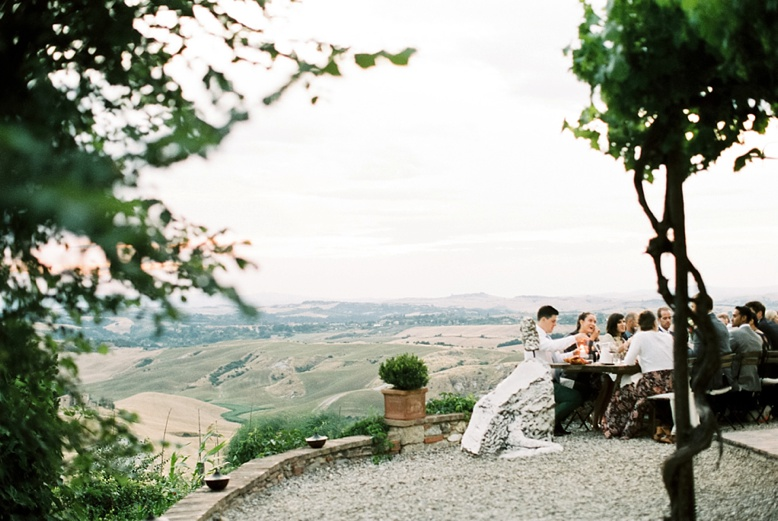 The lazy Olive Podere Finerri perfect & intimate family run Tuscany wedding location