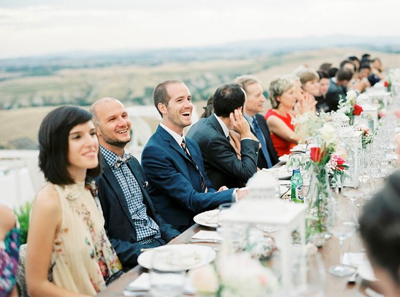 Layed back Tuscan wedding