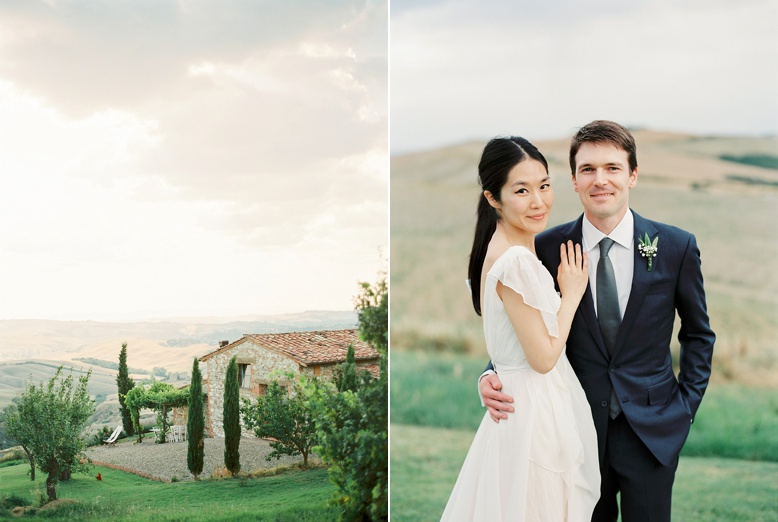 American-Korean destination wedding in Tuscany Italy captured on film by peachesandmint.com