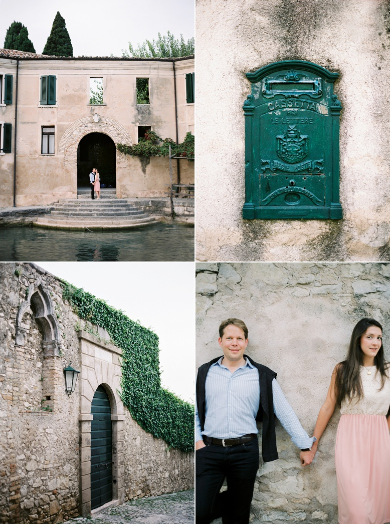 Couple Shoot San Vigilio Lago di Garda by peachesandmint.com