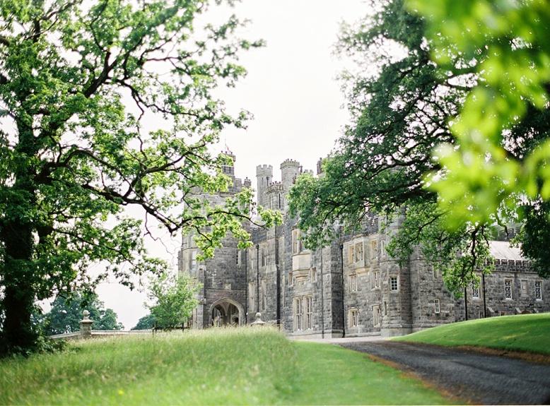 Irish destination wedding at Crom Castle wedding by peaches & mint