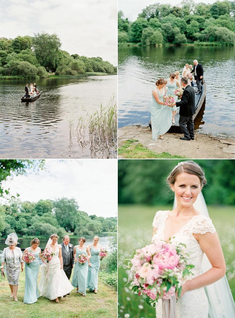 Romantic Crom Castle wedding by peaches & mint