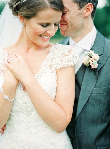 Sweetest memories bridal portraits captured by fine art photographer peaches & mint at Irish wedding
