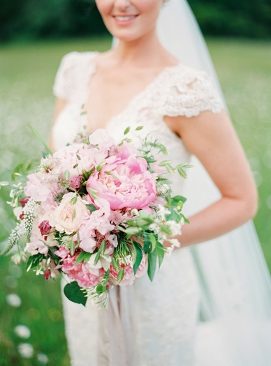 Exquisit bouquet and wedding flowers by Floral Earth at Irish destination wedding