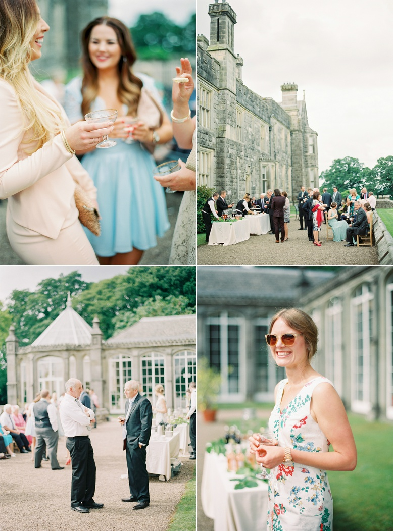 Crom Castle what a timeless and elegant setting for outdoor reception and wedding styled by Pearl & Godiva