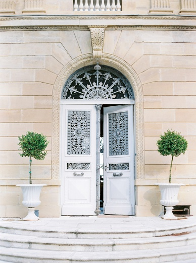 Elegant & relaxed chateau destination wedding France