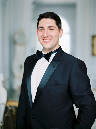Dolce & Gabbana groom's attire at this exquiste France destination wedding