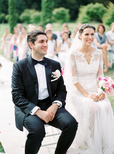 Stunning wedding celebration in French Countryside