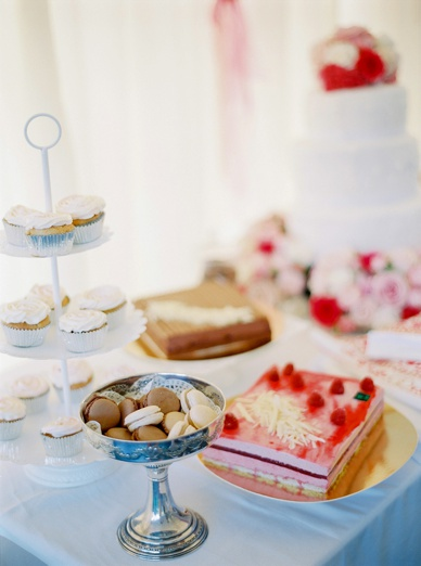 Sweetest treats at sweet table destination wedding France