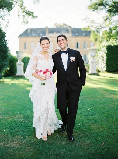Elegant & relaxed chateau destination wedding France the celebration
