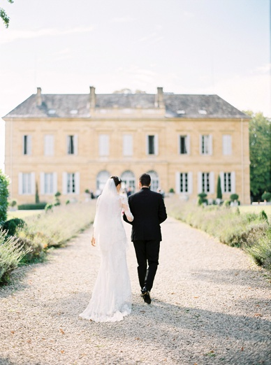 Chateau wedding photography France