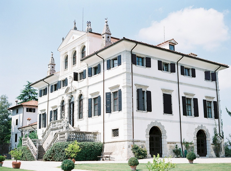 Villa Gallici Deciani near Udine wedding locations Italy