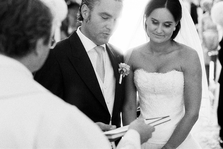 Delicate wedding photography on film for inspired brides