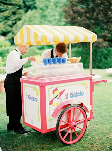 Gelato Gelato - Ice cream is a must at Italian Destination wedding