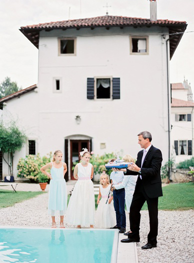 Italian Destination Wedding locations with Pool