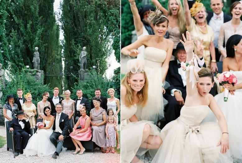 Family Photography at Italian destination wedding