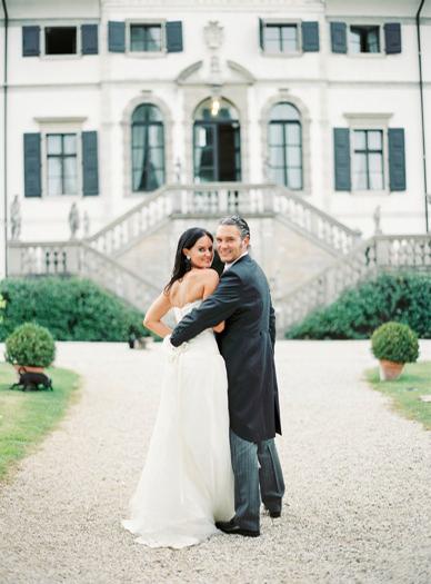 Epic Villa Gallici Deciani Wedding Italy wedding photography by peachesandmint.com