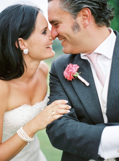 Bride & groom portraits at Italian destination wedding by peaches & mint