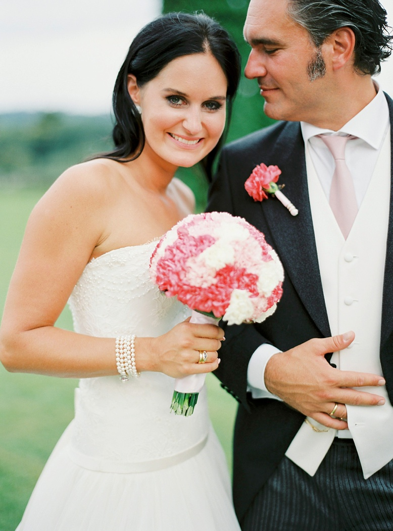 Stunning bride at Italian destination wedding